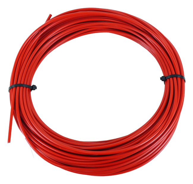 bowden řadící SACCON DX4005-50m 4mm červený /za 1m
