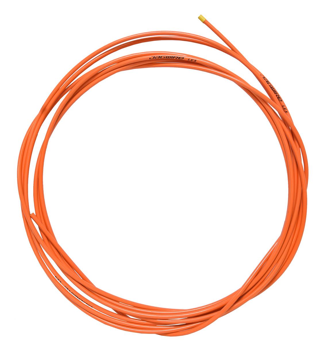 bowden řadící JAGWIRE 4mm oranžový /za 1m/