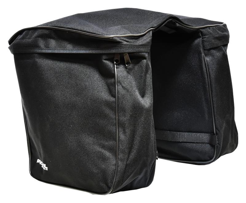 brašna na nosič zadní PROFIL BASE 2-kapsá černá