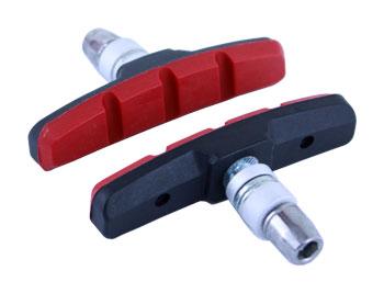 brzd.špalíky MRX-651 černo-červené