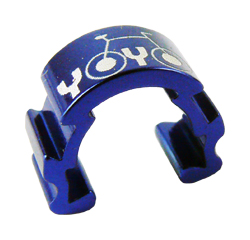 vodítko-U hydr. kabeláže YOYO na rám modrá