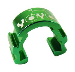 vodítko-U hydr. kabeláže YOYO na rám zelená