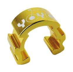 vodítko-U hydr. kabeláže YOYO na rám zlatá