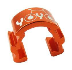 vodítko-U hydr. kabeláže YOYO na rám oranžová