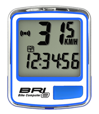 cyklocomputer ECHOWELL BRI-8 modrý