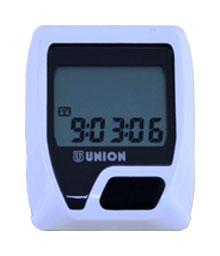 cyklocomputer UNION-8 bílý