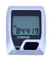 cyklocomputer UNION-8 stříbrný
