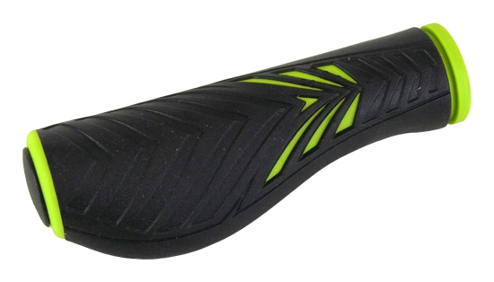 gripy MRX 1133 AD2 ergonom.černo-zelený 125mm