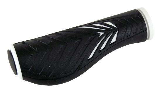 gripy MRX 1133 AD2 ergonom.černo-bílý 125mm