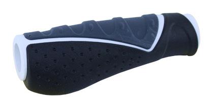 gripy PROFIL 709 AD3 ergonom. černo-šedo-bílý