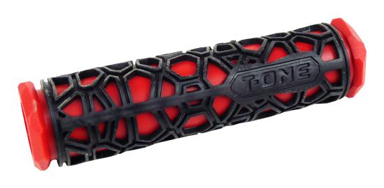 gripy T-ONE T-GP19R černo-červený