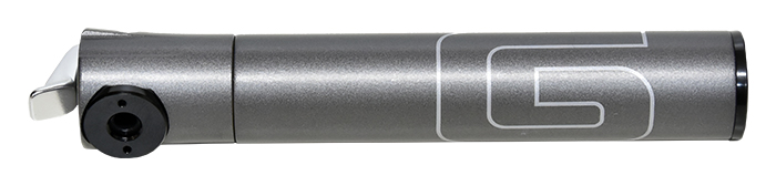 hustilka GIYO GM-04LT mikro CNC-Alu silnič.120psi