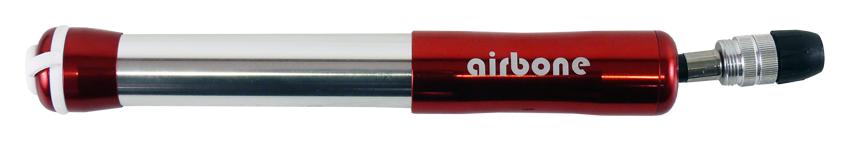hustilka AIRBONE ZT-509 mini Al červená