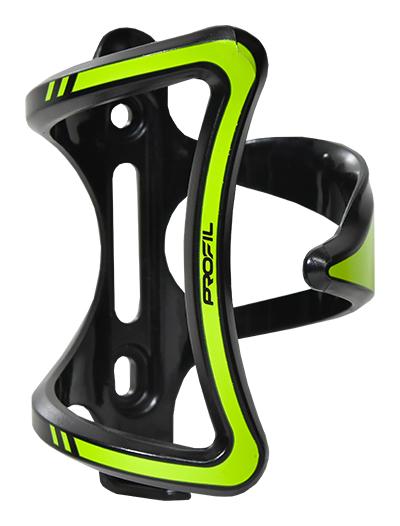 košík na láhev PROFIL CL-093 černo-zelený