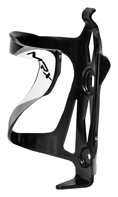 košík na láhev PROFIL BC23 plast černo-bílý