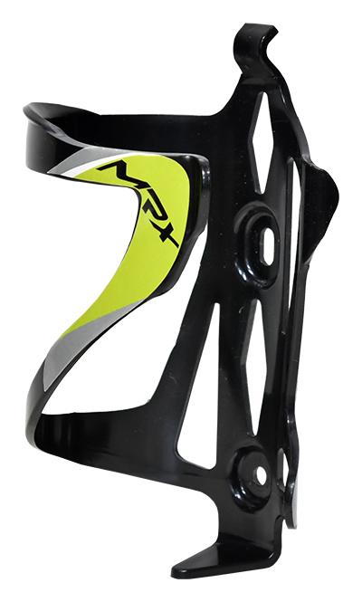 košík na láhev PROFIL BC23 plast černo-zelený