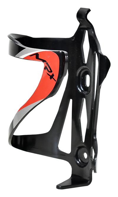 košík na láhev PROFIL BC23 plast černo-červený
