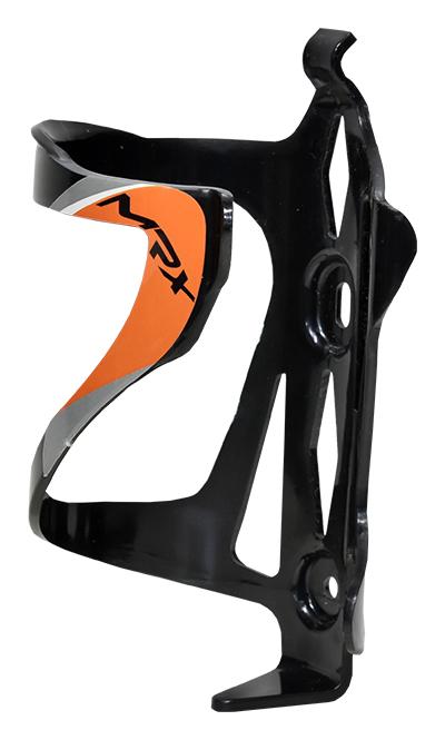 košík na láhev PROFIL BC23 plast černo-oranžový