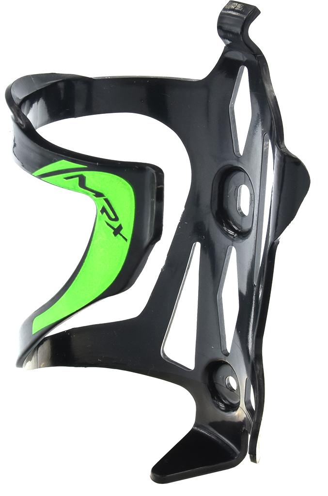 košík na láhev PROFIL BC23-2 plast černo-tm.zelený