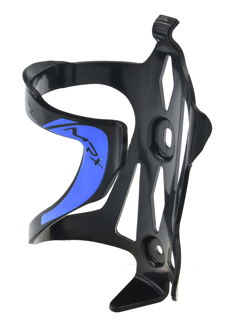 košík na láhev PROFIL BC23-2 plast černo-modrý
