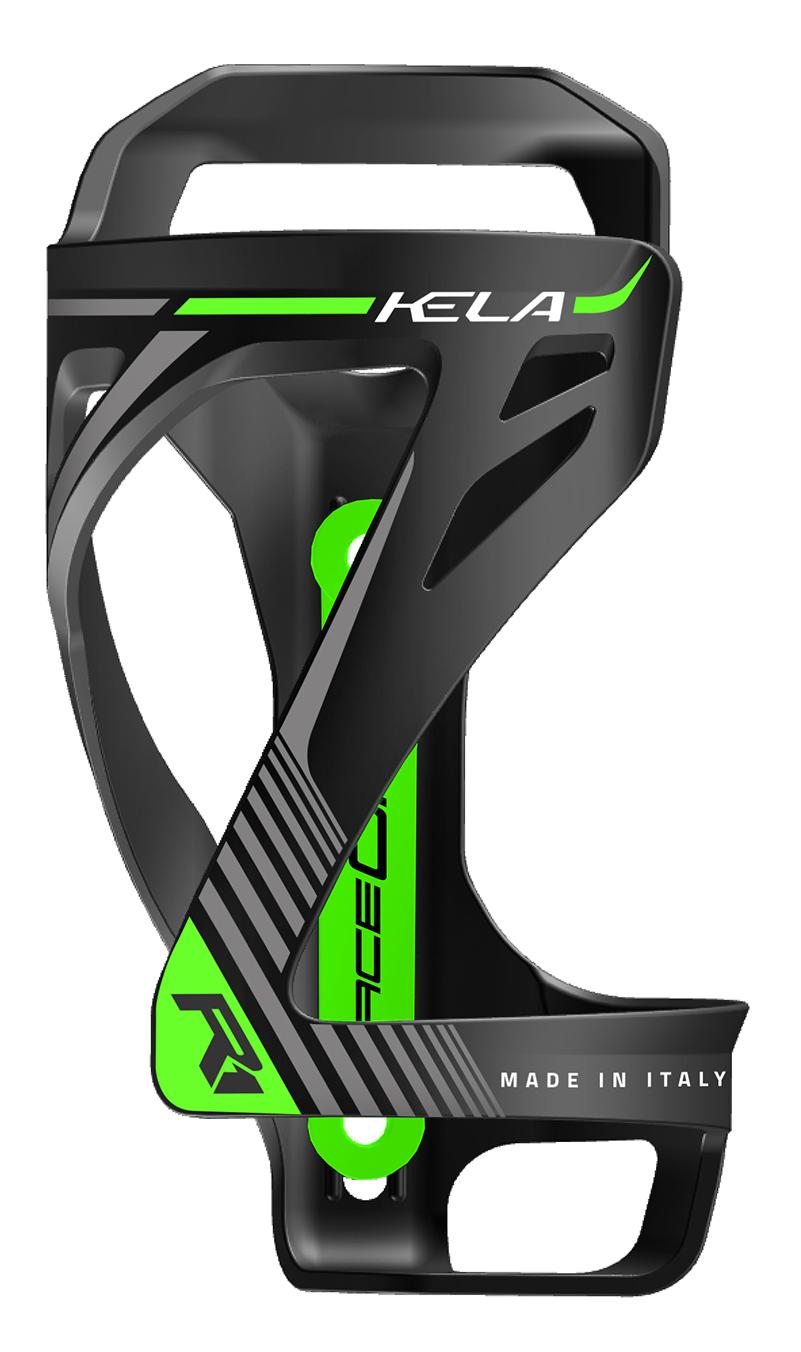 košík na láhev RACE ONE KELA černo-zelený