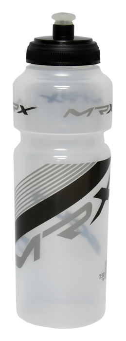 láhev MRX 0,75l transparent-černo/šedá