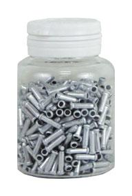 koncovka lanka ALHONGA HJ-D100 úzská stříbr.600ks