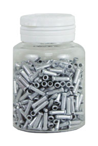koncovka lanka ALHONGA HJ-D1001 stříbrná 500ks