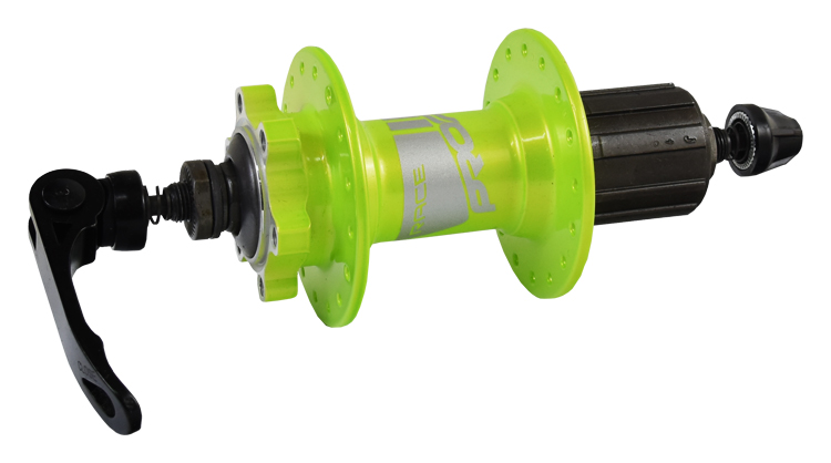 náboj zadní PROFIL disc 32děr zelený