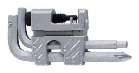 multiklíč MRX CE-04 s nýtovačem