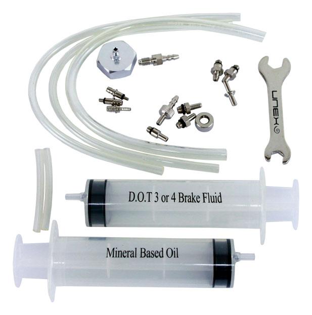odvzduš.sada UNEX HK-UBK001 Bleed Kit