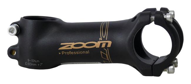 představec ZOOM TDS-D345G 31,8/100mm černý matný