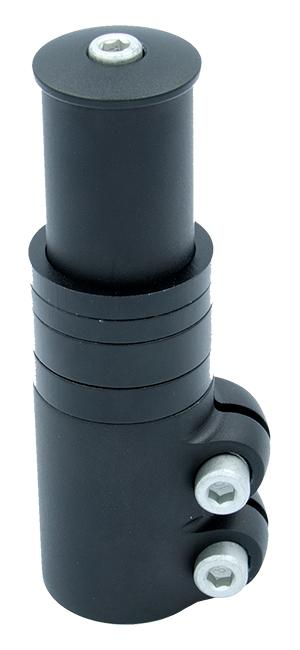 redukce nástavec A-head sloupku 70mm černý matný