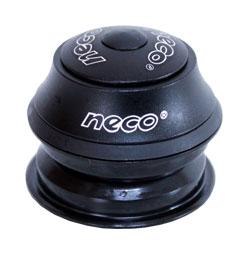 řízení NECO H148 1-1/8 semi-integr.kuž.15mm černé
