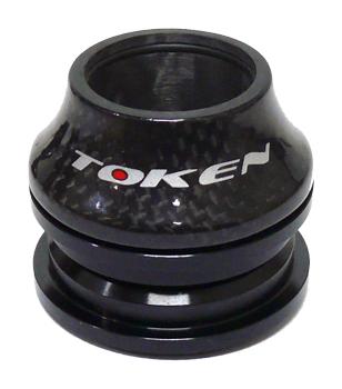 řízení TOKEN carbon 1-1/8 semi-integr. černé