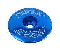"""horní krytka řízení NECO C2861 1-1/8"""" modrá"""