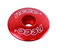 """horní krytka řízení NECO C2861 1-1/8"""" červená"""