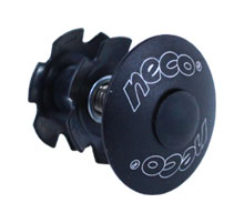 """ježek NECO H2861 1-1/8"""" Al zátka černá"""