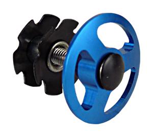 """ježek NECO C2862D 1-1/8"""" Al zátka modrá"""