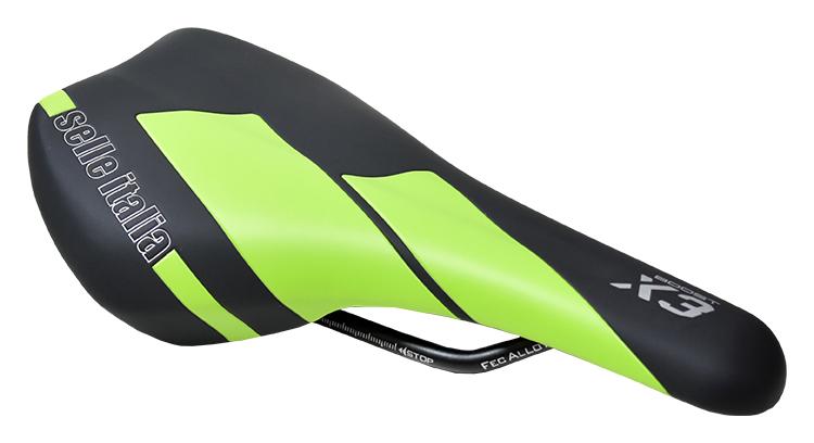 sedlo SELLE ITALIA X3 BOOST černo-zelený