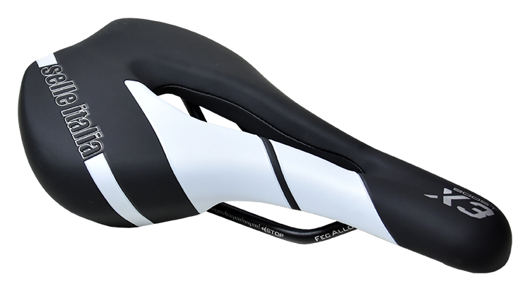 sedlo SELLE ITALIA X3 XP Lady BOOST černo-bílý
