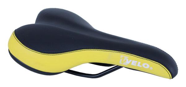 sedlo pánské VELO VL-3073 černo-žluté