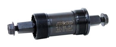 osa střed. NECO B910BK 127,5mm BSA