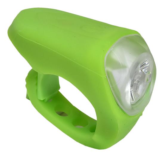 světlo přední PROFIL JY-378M silicon USB zelené