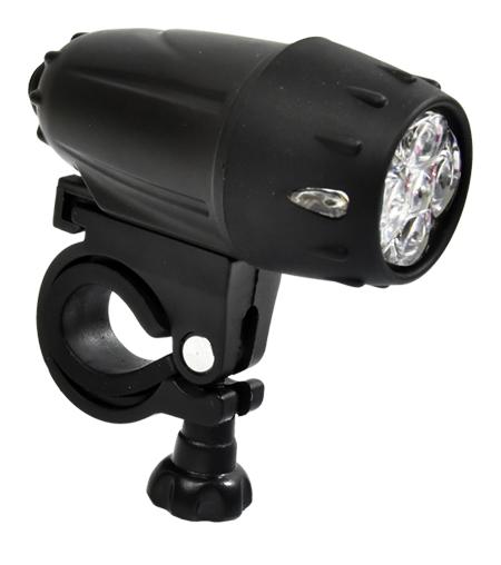 světlo přední PROFIL JY-593 5-LED černé