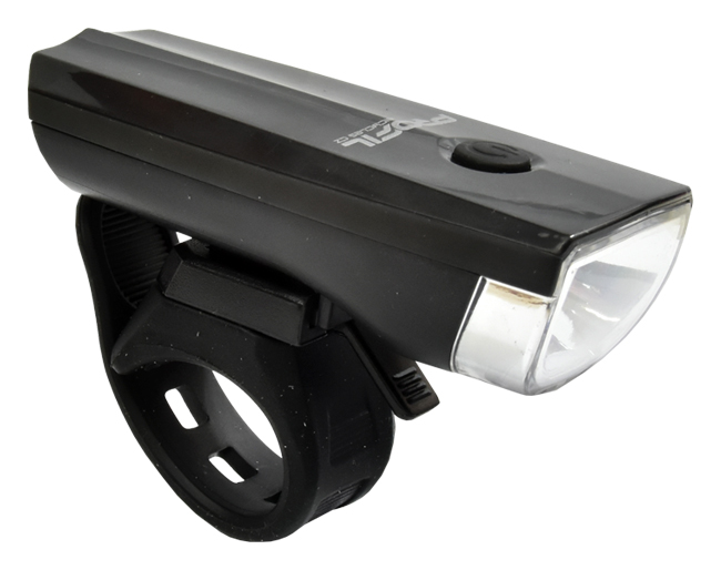světlo přední PROFIL JY-7024 1-Watt černé