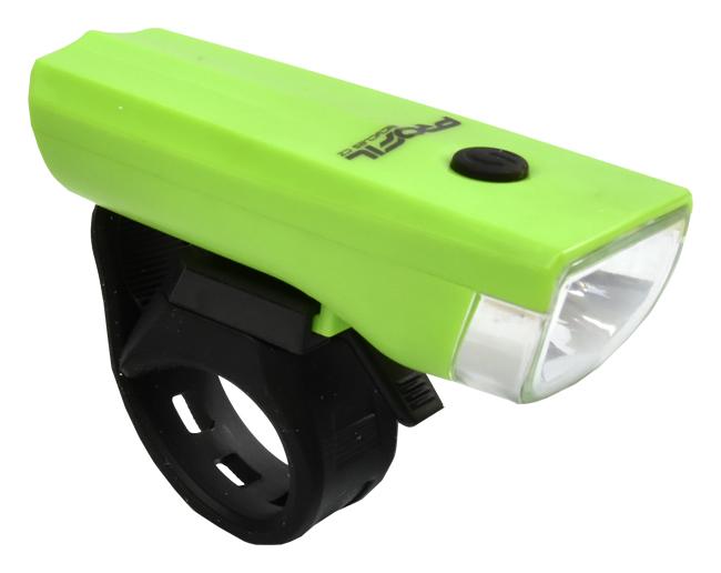 světlo přední PROFIL JY-7024 1-Watt zelené