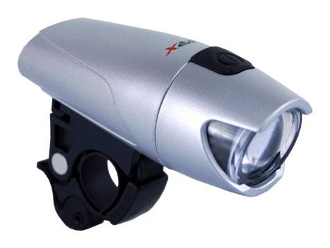 světlo přední MRX-180 ultra LED stříbrné