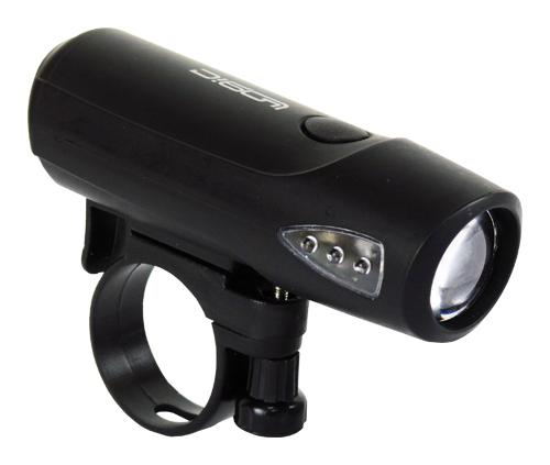 světlo přední PROFIL JY-224-1 černé