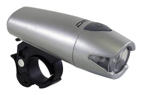 světlo přední MRX-840 3-LED stříbrné